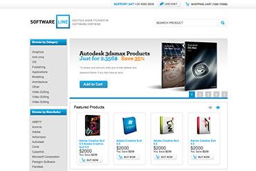 Интернет-магазин Software Line
