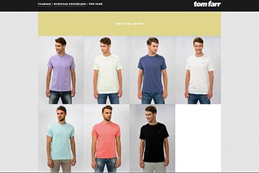 Промо-сайт Tomfarr
