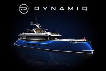 Промо-сайт премиум яхт Dynamiq